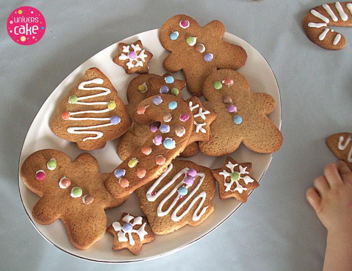 Recette biscuits pain d' epice enfant decoration smarties