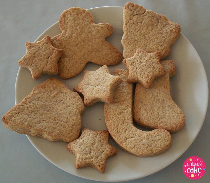 recette biscuits noel decores
