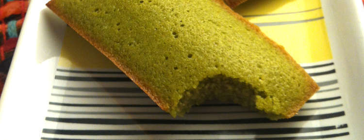 recette financiers au th vert matcha blog univers cake. Black Bedroom Furniture Sets. Home Design Ideas