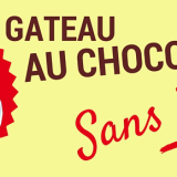 Gateau au chocolat sans beurre facile et léger