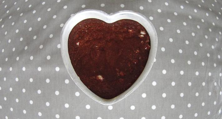 gateau coeur chocolat dentelle sucre rouge st valentin blog univers cake. Black Bedroom Furniture Sets. Home Design Ideas