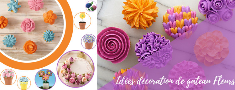 Idees Pour Faire De La Decoration De Gateau Fleur Blog Univers Cake