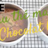 Recette gateau thé vert matcha & chocolat blanc facile