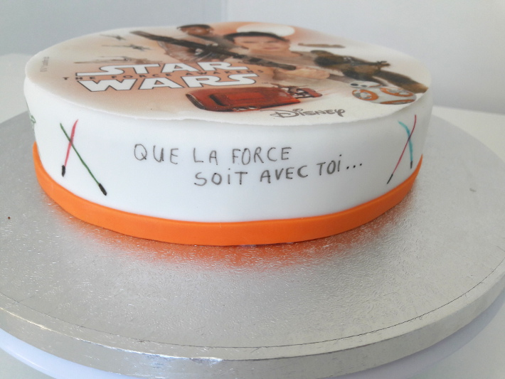 Bien connu Faire un gateau Star Wars 7 facile | Blog Univers Cake BQ84
