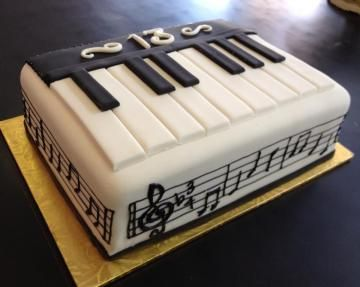 Keyboard Birthday Cake Images