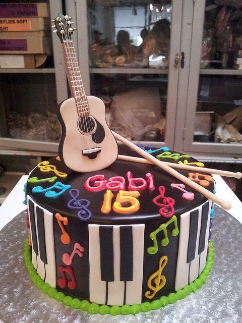 Faire Un Gateau Musique Blog Univers Cake