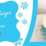 Faire un gateau Reine des neiges avec ruban pate a sucre