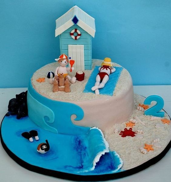Faire Un Gateau Plage Blog Univers Cake