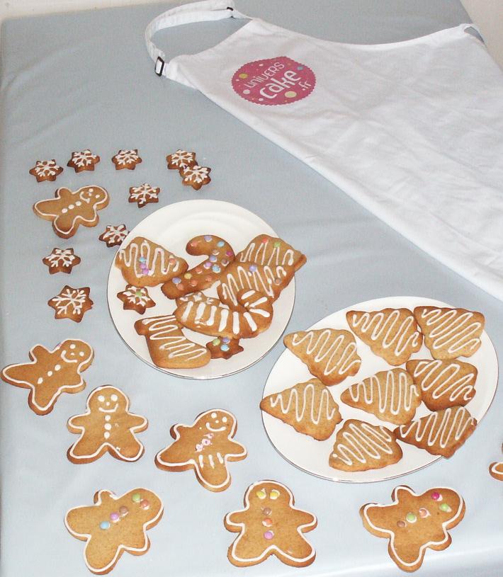 Décoration biscuits pain d epice enfant