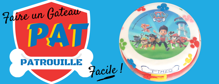 Faire Un Gateau Pat Patrouille En Pate A Sucre Facile Blog Univers Cake